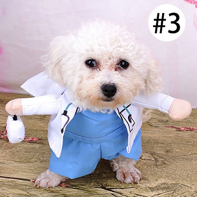 Smart Novelty Halloween Dog Costumes Puppy Pet Clothes Funny Hot Dog Dressing Up Jacket Coats For Small Medium Dogs Cats Pet Products Pet Products Dog Coats & Jackets