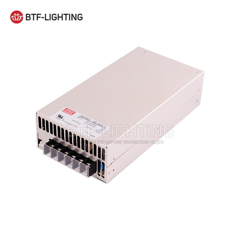 5 V 100A 500 W AC à DC commutateur transformateur d'alimentation pour LED bande lumineuse 5 V WS2812B WS2811 WS2801 LPD8806 110/240 V