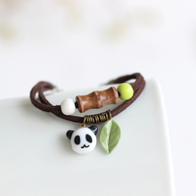 New Arrival Handmade Unique Panda Ceramic Bracelets & Bangles Fashion Cute Elegant Jewelry For Women girl Bracelet Gift
