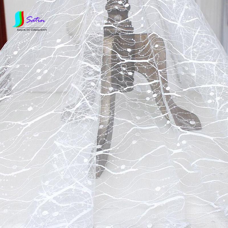 mullido vestido de novia blanco marfil capa exterior decoracin de tela material de tela de