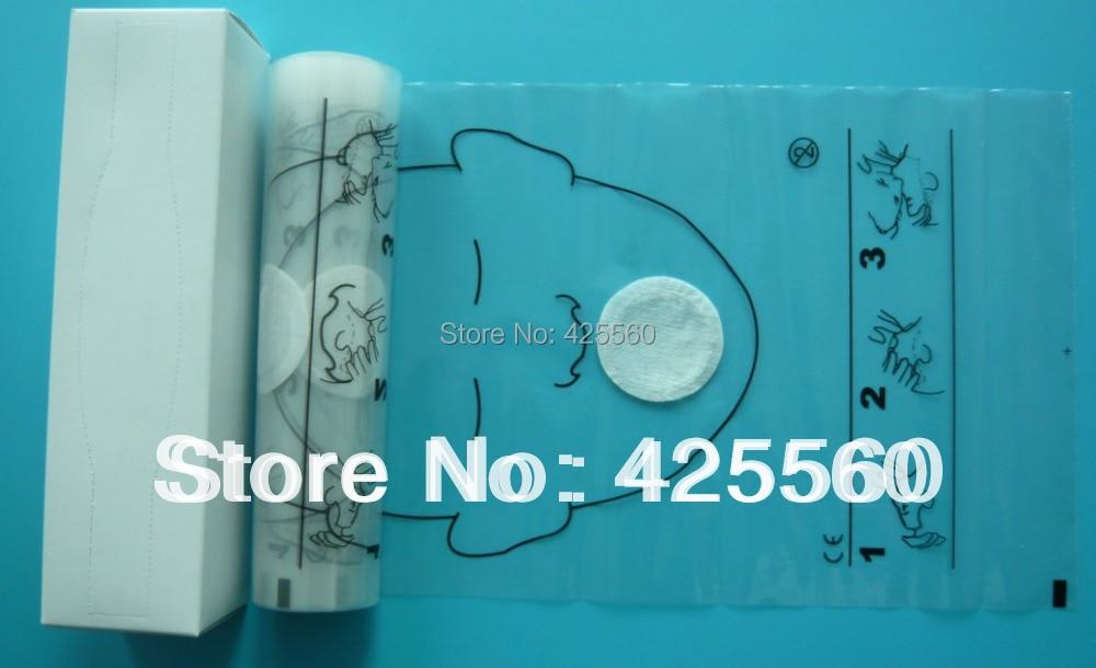 4 Rolls 36 komada / Roll CPR maske za lice Usta do usta spašavanja - Zdravstvena zaštita - Foto 3
