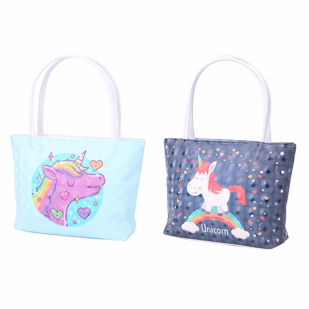 THINKTHENDO 1 PC Women Handbag Cartoon Animal Travel Makeup Cosmetic Bag Toiletry Case Pouch Storage Bag