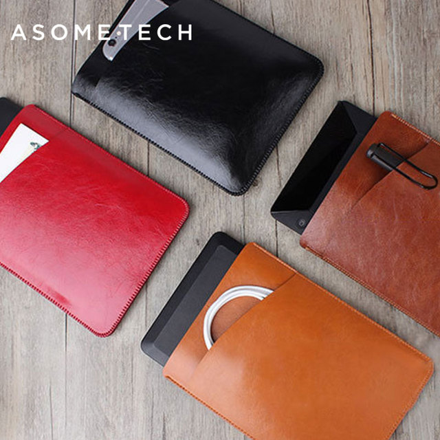US $11 99 |Aliexpress com : Buy For Amazon kindle Oasis Protective Crazy  horse Nappa Leather Sleeve Pouch bag for Paperwhite 1 2 3 Ultra thin Anti