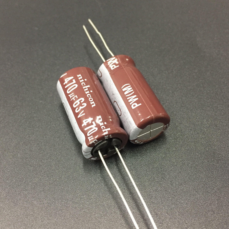 Rubycon Elec Capacitor 1uF 50V YXA 2 capacitors