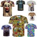 Newest Fashion Print Both Size Casual 3d T shirt Print Tshirts Summer