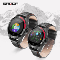 2019 new SANDA smart watch waterproof heart rate monitor blood pressure fitness tracker men women smart watch for IOS Android