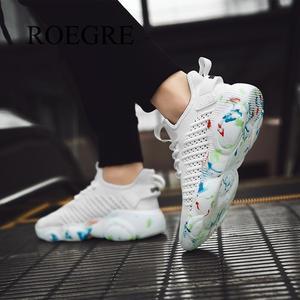 Image 5 - Мужская повседневная обувь красного цвета размера плюс 35 47, легкие дышащие кроссовки, Tenis Masculino, новинка 2019