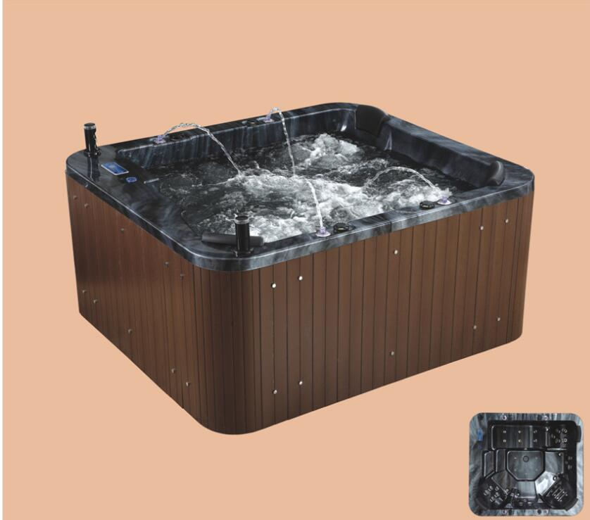 2090mm Swimming Pool whirlpool Bathtub Acrylic Hydromassage Surfing Multi-people SPA NS2009
