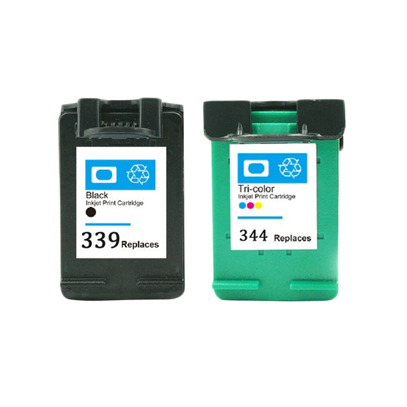 LuoCai compatible ink cartridges For <font><b>HP</b></font> 339 344 Deskjet 460 5740 5745 5940 <font><b>6520</b></font> Photosmart 2575 2610 2710 8050 8150 8450 Printer image