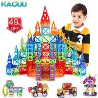 19-149 шт. большой размер Магнитный конструктор Набор для мальчиков и девочек строительные магниты игрушки магнитные блоки развивающий конст...