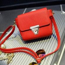 2017 neue frauen Handtaschen Schulter Mode Messenger Bags Damen Crossbody Kleine Handtasche Leder Kupplung Geldbeutel Weibliche