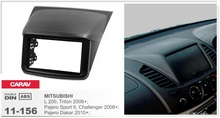 Rahmen + android 6.0 auto dvd für mitsubishi pajero sport II challenger dakar L200 triton 4G lite stereo kopfeinheiten radio gps navi