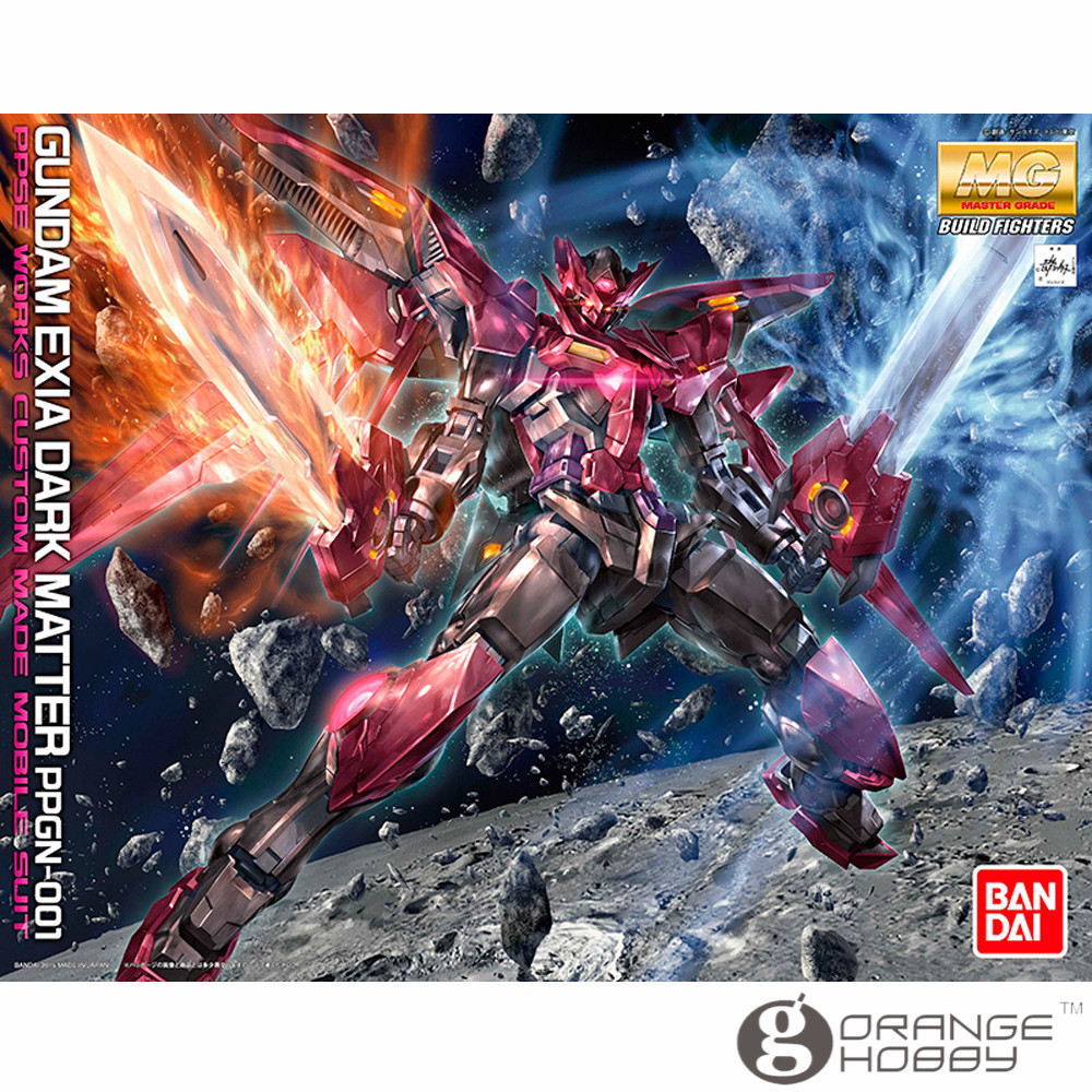 OHS Bandai MG 185 1/100 PPGN-001 Gundam Exia Dark Matter Mobile Suit Assembly Model Kits ohs bandai mg 185 1 100 ppgn 001 gundam exia dark matter mobile suit assembly model kits