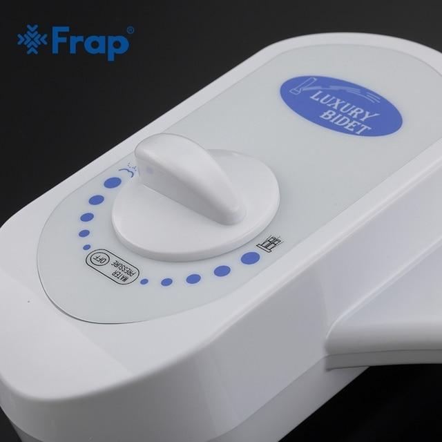 Frap couvercle de sièges de toilette douche hygiénique   Robinet de bidet de salle de bain, simple, propre de toilette, pulvérisateur de bidet