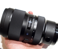 Новый Sigma 50 100 мм f/1,8 DC HSM Книги по искусству объектив серии для Nikon