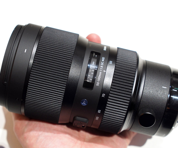 New Sigma 50-100mm f/1.8 DC HSM Art Series Lens for Nikon sigma 50 100mm f 1 8 dc hsm art canon ef