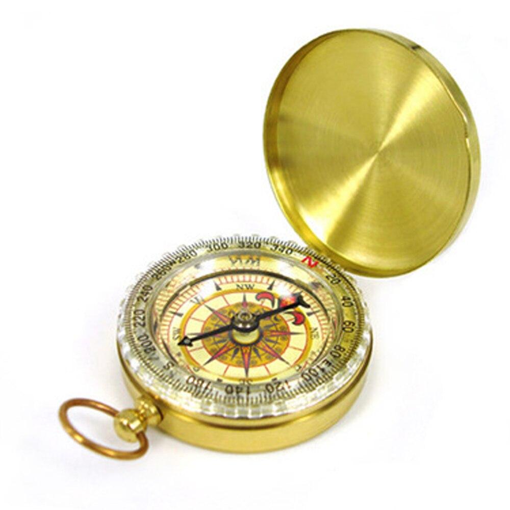 Металлический Карманный компас, часы-навигатор для охоты, туризма, армейский Военный Тактический набор для выживания, Походное оборудовани...