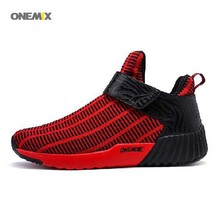 2017 Men's Running Shoes Athletic Shoes Lightweight Breathable Sneakers High Top Outdoor Shoes 1190 39-46