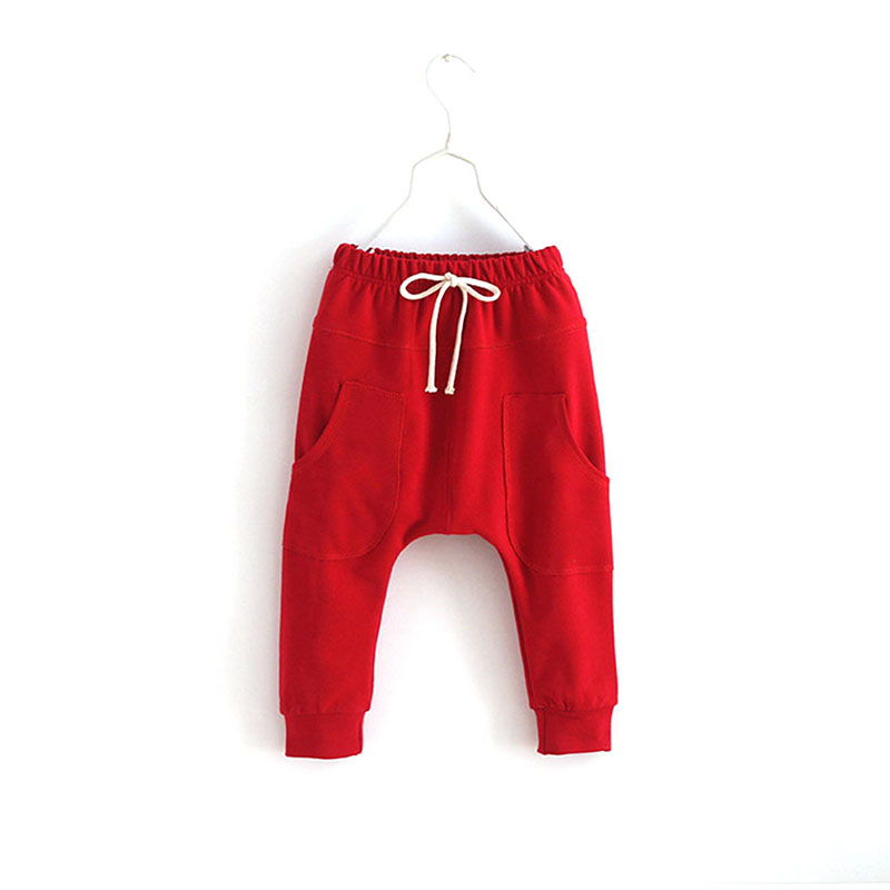 Sports Fitness Kid Toddler Child Harem Bukser Baby Boy Girl Bukser Bottoms