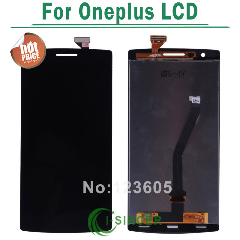 1/PCS For oneplus LCD screen Display Touch Screen Digitizer Assembly oneplus lcd screen black colour
