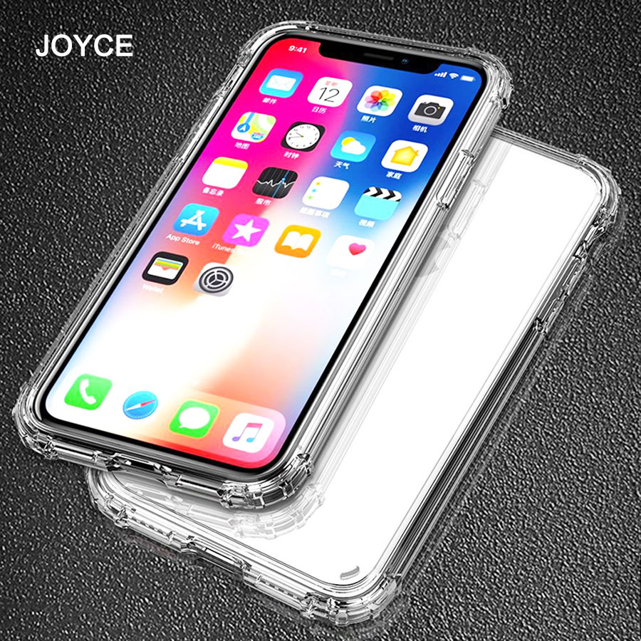 JOYCE Shockproof Case For iPhone X 6 7 8 Plus Phone Case For iPhone XS Max
