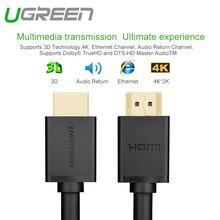 Ugreen HDMI à HDMI Câble 1.4 1080 P 3D pour PS3 Projecteur HD Adaptateur ordinateur Câble 0.5 m 1 m 2 m 3 m 5 m 10 m pour HD LCD Apple TV