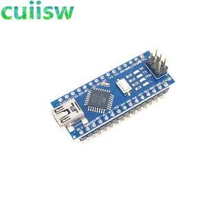 Image 2 - 10PCS/LOT  Nano 3.0 controller compatible for arduino nano CH340 USB driver with CABLE NANO V3.0 ATMEGA328P