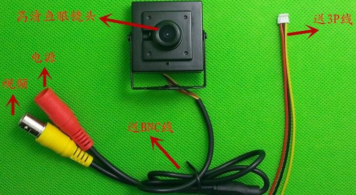 HD 750TVL fish-eye lens 2.1mm 140 Degree Mini Sony FPV Tiny wide-angle Lens Camera