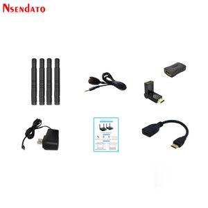 Image 4 - Measy Air Mini 200M/656FT 2,4 ГГц/5 ГГц Беспроводной Wi Fi HDMI аудио видео удлинитель передатчик приемник комплект с ИК выходом
