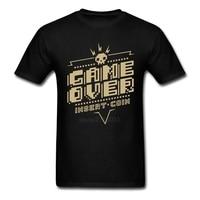 3d Printed Game Over Class T Shirts Men 100 Cotton T Shirt Men Cotton New Brand