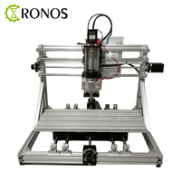 DIY CNC ELF 4018 CNC Engraving Machine Kit 3D Laser Engraving Machine Small Round Engraving Machine Kit Expandable Fourth Axis