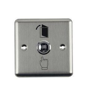 Image 2 - Botón de salida de acero inoxidable, interruptor pulsador, Sensor de puerta, liberación de apertura para bloqueo magnético, Control de acceso, protección de seguridad del hogar