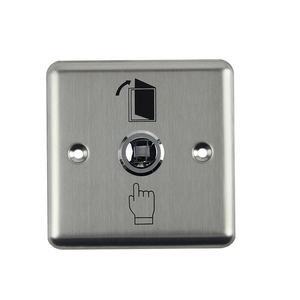 Image 2 - Stainless Steel Exit Button Push Switch Door Sensor Opener Release For Magnetic Lock Access Control Home Security Protection