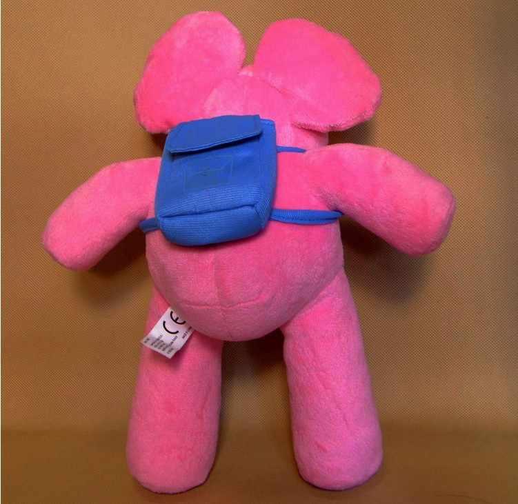 Varejo 1 pcs Bandai Pelúcia Pocoyo Pelúcia Elly Plush Stuffed Toy Boneca Figura 12 inch 30 cm Elefantes De Pelúcia Livre Shippin