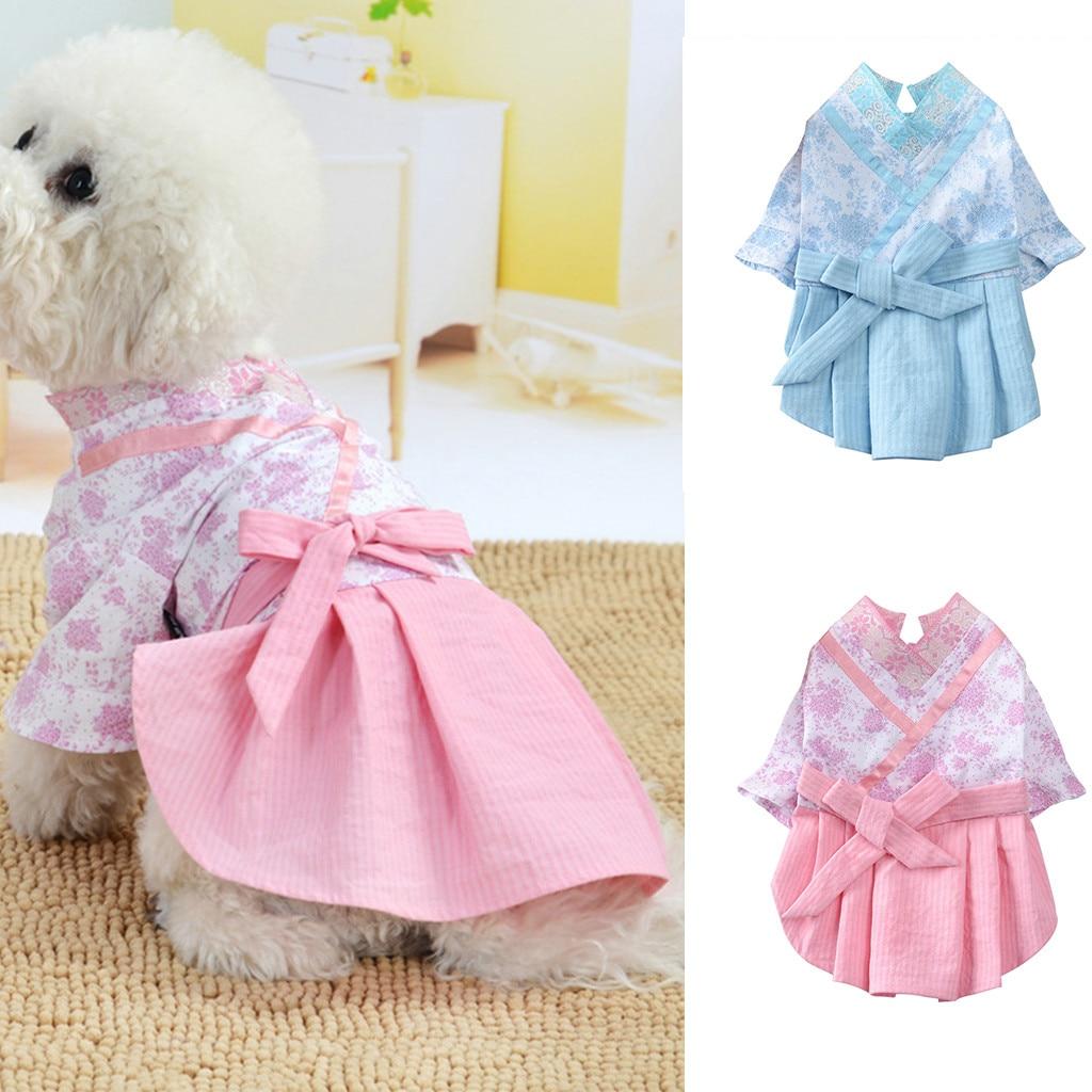 Dog Girl Dress,Lace Tutu Vest Apparel Clothes Bowknot Sleeveless Skirt Princess Dress Pet Clothes Vest Shirts for Dog Apparel
