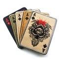 TAD Remendo Retangular Bordado Remendos Táticos de Poker Cartão de Morte de Gancho E Laço Moral Militar Combate Do Exército Braçadeira Crachá