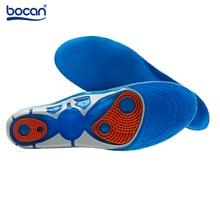 Silicon Gel-einlegesohlen Fußpflege für Plantar Fasciitis Fersensporn rennen Sport Einlegesohlen Dämpfung Pads für männer und frauen 6629