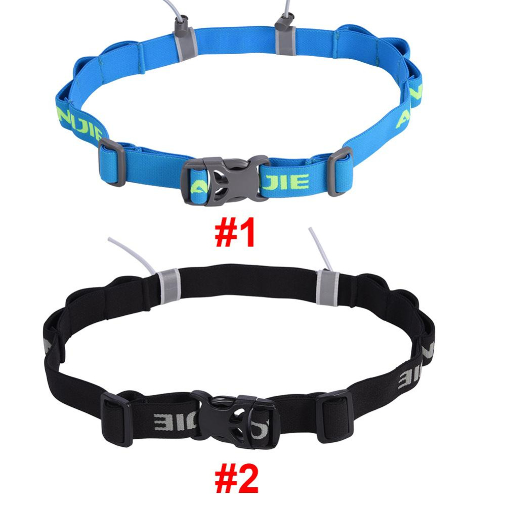 AONIJIE Unisex Triathlon Marathon Race Number Belt With