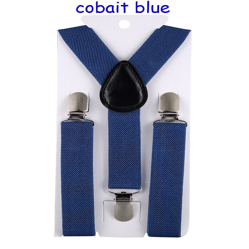 High Quality Boys And Girls Belt Clip-on Elastic Braces Stainless Kids Baby Suspenders Children Party Adjustable Accessories