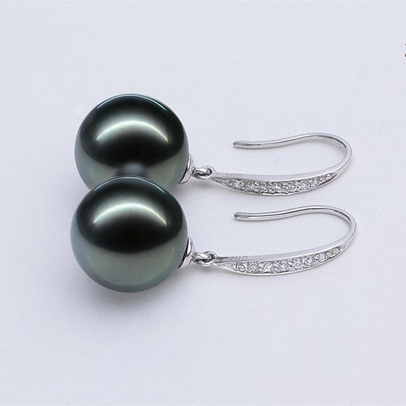 Naušnice od srebra s925 srebrne naušnice u stilu od 10 do 12 mm u - Fine nakit - Foto 2