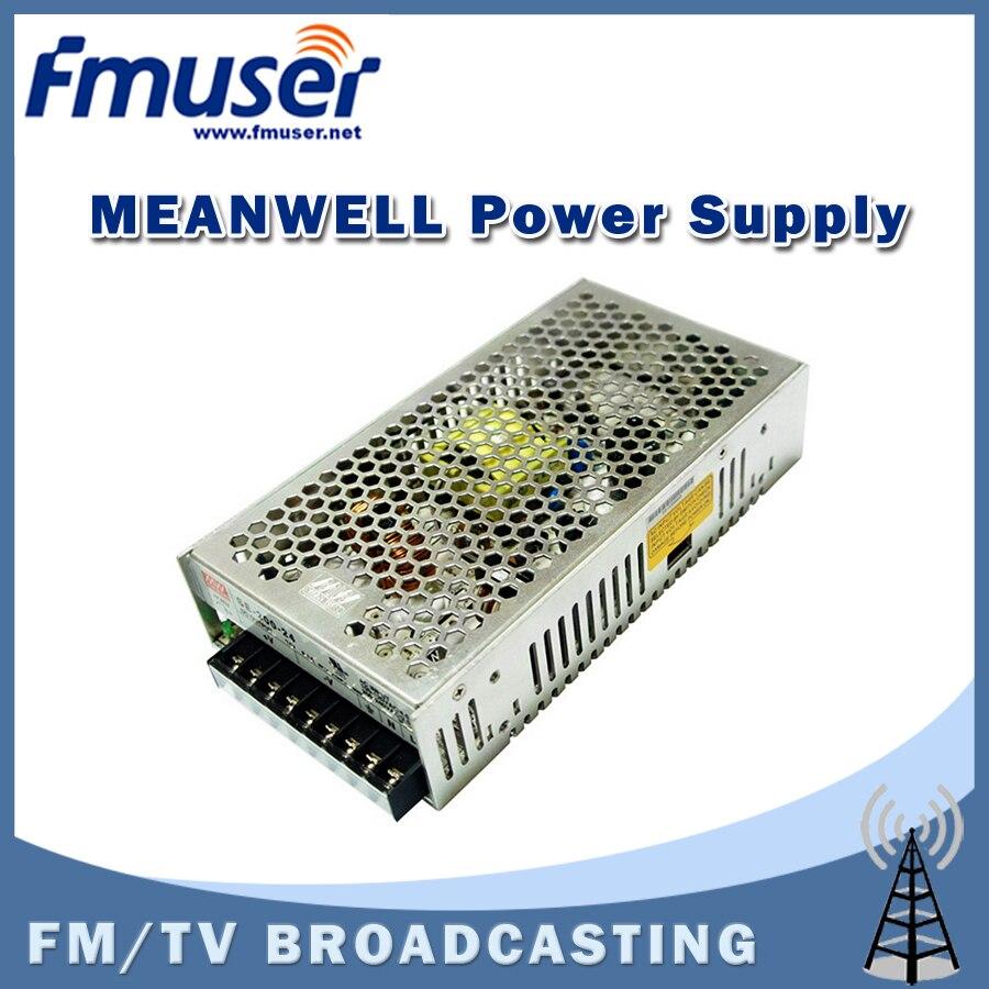 Free shipping  FMUSER MEANWELL SE-200-24 24V 8.8A Single Output Power Supply free shipping fmuser st 05c 0 1w 0 5w fm transmitter antenna power supply kit
