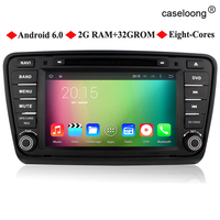 7 Inch Quad Core Android 5 1 Car DVD Player GPS Navigation For Skoda OCTAVIA 2014
