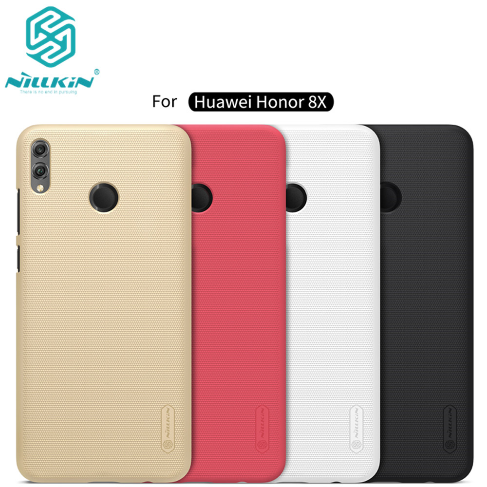 10pcs lot wholesale NILLKIN Super Frosted Shield matte PC hard back cover case for Huawei Honor