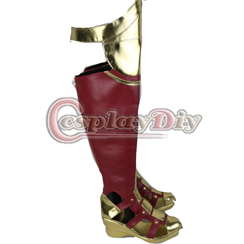 db1f84a9f4c6 Cosplaydiy Wonder Woman Cosplay Boots Dawn of Justice League Adult Women  Shoes Custom Made-in Shoes from Novelty   Special Use on Aliexpress.com