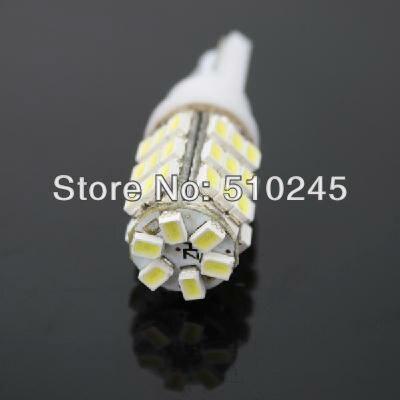 Free shipping 500X Car Auto LED T10 194 W5W 42 led smd 3020 Wedge LED Light Bulb Lamp T10 42SMD White