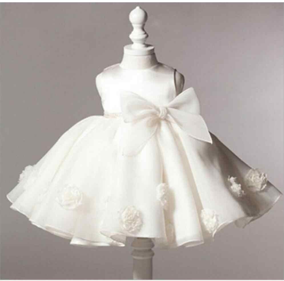 Ball Gown Sleeveless Beige Knee Length Flower Girl Dresses Pink Blue Kids  Dress Children Girls Dresses 0736bc8c0178