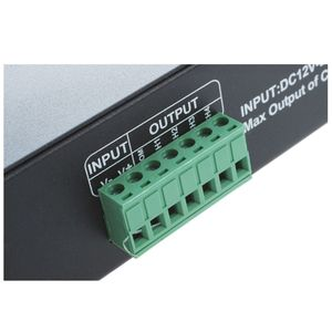 Image 5 - DMX 512 4CH x 8A فك وحدة تحكم LED 4 قناة سائق RGBW LED الشريط تيار مستمر 12 فولت 24 فولت عالية الجودة DMX فك (دعم بالجملة