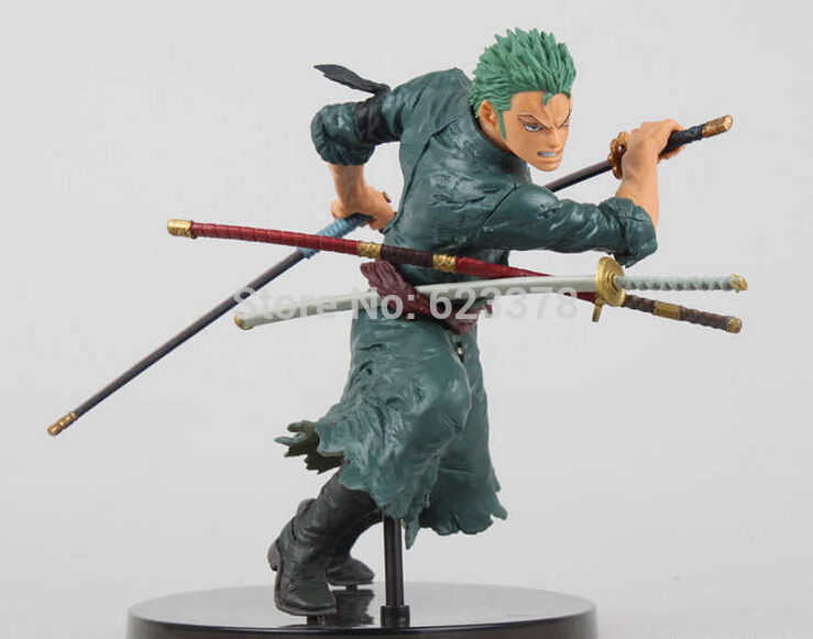 One Piece brinquedos meninos onepiece zoro pvc Action Figure Collectible Toys for kid boy