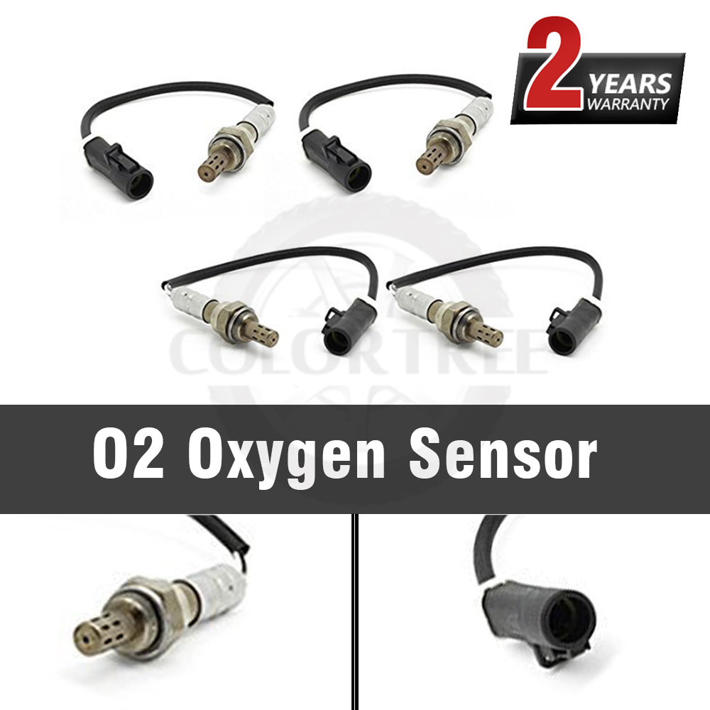 4Pcs Upstream Downstream O2 Oxygen Sensor Fit Ford Mustang LS Mercury 3.0L