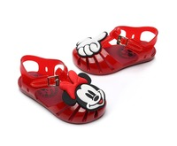 a3b459d18 2019 Melissa Style Mickey Minnie Pattern Girls Jelly Sandals New Lovely  Girls Sandals Toddler Children Beach. 2019 Sandálias Da ...